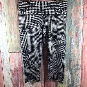 Adidas patterned gym capris